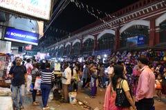 Agitarsi Calcutta fotografia stock