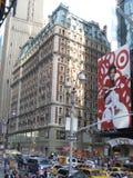 Agitarsi Time Square immagine stock