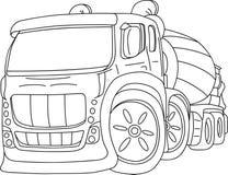 Agitation truck Royalty Free Stock Image