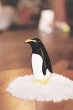 Agitatore di pepe e di sale, pinguino immagini stock libere da diritti