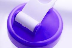 Agitatore di scossa del proteina del siero Immagini Stock