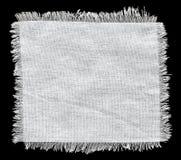 Agite el fondo de la arpillera, pedazo de material natural Imágenes de archivo libres de regalías