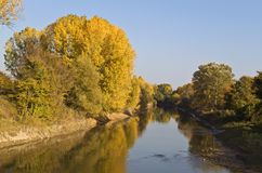 Agitis river in north Greece Royalty Free Stock Photos