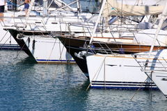 żaglówka jachty Fotografia Royalty Free
