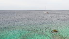 Żaglówka na Wysokich morzach Zdjęcie Royalty Free