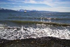 Żaglówka na Zatoce Fotografia Royalty Free