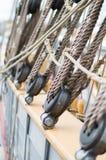 Żaglówka pokładu arkany Denny rejs Fotografia Stock