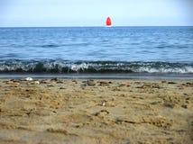 Żaglówka przy morzem Zdjęcia Stock