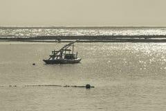 Żaglówka przy oceanem Porto Galinhas Brazylia Zdjęcia Stock