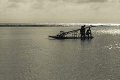 Żaglówka przy oceanem Porto Galinhas Brazylia Zdjęcie Stock