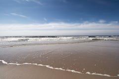 Żaglówki żeglowania holendera wybrzeże Obraz Stock