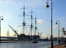 Żaglówki gracja, St Petersburg Obrazy Royalty Free