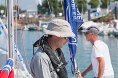 żaglówki i regatta konkurenci Fotografia Royalty Free