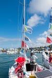 żaglówki i regatta konkurenci Fotografia Stock