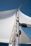 żagla masztowy jacht Zdjęcie Royalty Free