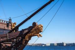 Żagla statek Obrazy Royalty Free