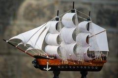 żagla statek Zdjęcie Stock