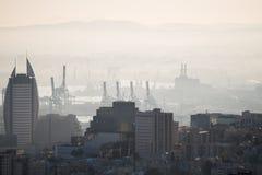 Żagla wierza w Haifa Zdjęcia Stock