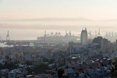 Żagla wierza w Haifa Fotografia Royalty Free