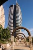 Żagla wierza w Haifa Obraz Stock