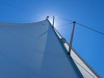 Żagle w wiatrze w Chorwacja Zdjęcie Royalty Free