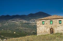 Aglianico lands royalty free stock photo
