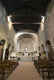 Agliate Brianza - interno della chiesa Immagini Stock Libere da Diritti