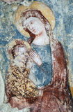 Agliate Brianza Italien: historisk kyrka, baptistery Royaltyfria Foton