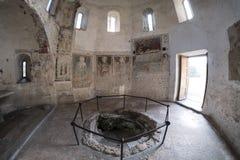Agliate Brianza Italy: historic church, baptistery Royalty Free Stock Photography
