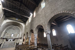 Agliate Brianza Italy: historic church Stock Photography