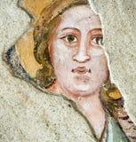 Agliate Brianza: malować Obraz Royalty Free