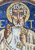 Agliate Brianza, mozaika St. Peter Fotografia Stock
