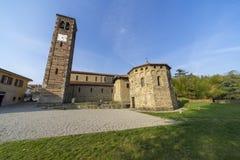 Agliate Brianza Włochy: historyczny kościół Zdjęcie Stock