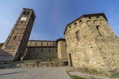 Agliate Brianza Włochy: historyczny kościół Obraz Stock