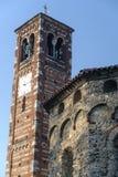 Agliate Brianza Włochy: historyczny kościół Obraz Royalty Free
