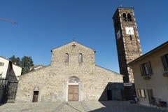 Agliate - Church of San Pietro Royalty Free Stock Image