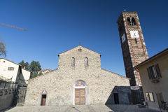 Agliate - Church of San Pietro Royalty Free Stock Photography