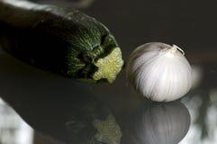 Aglio e zucchini Immagini Stock Libere da Diritti