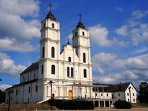 Aglona大教堂,拉脱维亚 免版税库存图片