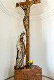 Aglona bazylika, architektura i wnętrza, Zdjęcie Royalty Free