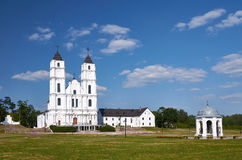 Aglona cathedral, Latvia Royalty Free Stock Photography