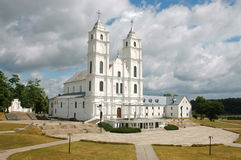 Aglona church in Latvia Royalty Free Stock Photography