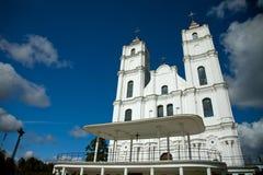 Aglona Kirche in Lettland lizenzfreies stockbild