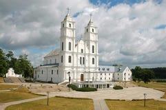 aglona kyrkliga latvia royaltyfri fotografi