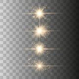 Optical lens flare light royalty free illustration