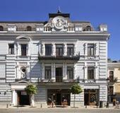 Agmashenebeli Avenue in Tbilisi. Georgia.  Royalty Free Stock Photography