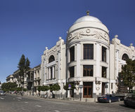 Agmashenebeli Avenue in Tbilisi. Georgia Royalty Free Stock Photo