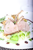Agneau cuit Images stock