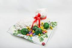 Agneau cuit au four de Pâques Photographie stock libre de droits