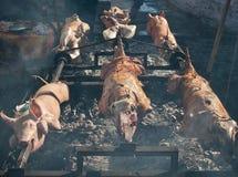 Agneau et porc de barbecue Image stock